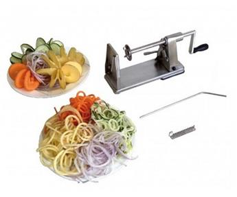Coupe Légumes ou Fruits en spirale Touret TWIST Inox