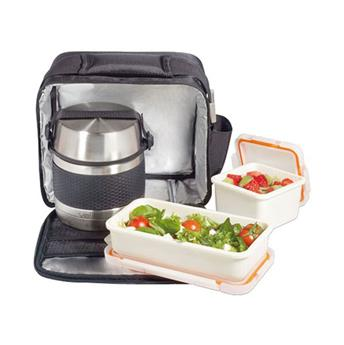 NOMAD Thermosoft Sac isotherme souple + boite repas LUNCH BOX ISOTHERME Inox 0.7 L + 2 boites