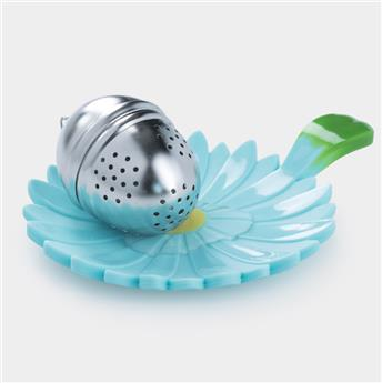 FLORAL Soucoupe Repose sachet Repose cuillère silicone Charles VIANCIN