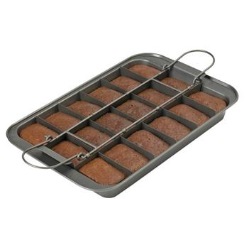 CHICAGO Métallic Moule BROWNIES rectangle 18 parts  Slice Solutions