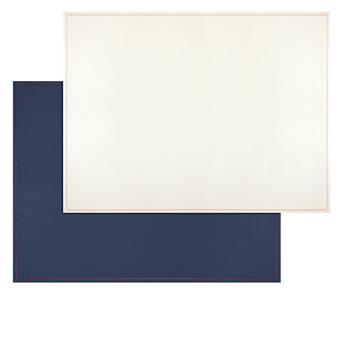 Set de Table FreeForm 40 x 30 Bleu marine Beige