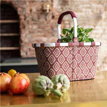 CARRYBAG Panier à provisions pliable  REISENTHEL Diamonds Rouge
