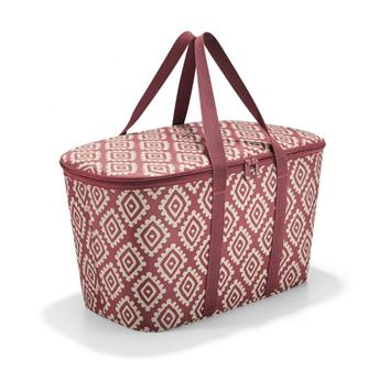 COOLERBAG Sac de courses isotherme Glaçière REISENTHEL Diamonds Rouge
