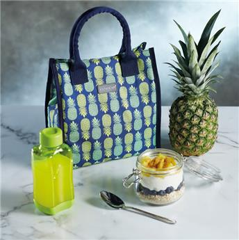 Sac Lunch Box isotherme 4 L KitchenCraft Ananas