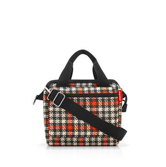 ALLROUNDER CROSS Sac Lunch box bandouillère REISENTHEL Glencheck Red SC