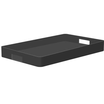 MONO Plateau de service rectangle mélamine ZAK! 48 x 31 Noir