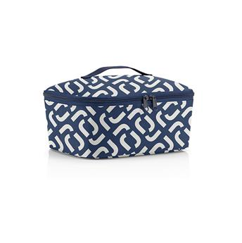 COOLERBAG M Pocket Lunch box isotherme Pique Nique Reisenthel Signature NAVY